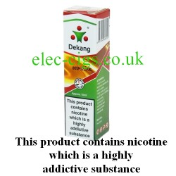 King of Tobacco E-Liquid from Dekang