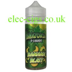 Banana Blast 100 ML E-Liquid from Amazonia