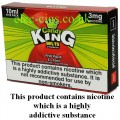 Candy King 5 x 10 ML E-Juice: Belts Strawberry
