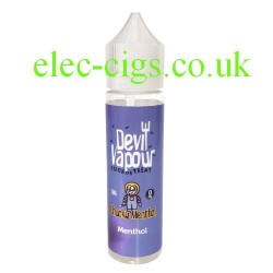 a bottle of Chucky Menthol 50 ML E Juice from Devil Vapour