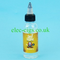 a bottle of Clown Berry 50 ML E Juice from Devil Vapour