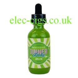 a bottle of Apple Pie 50 ML E-Liquid from Dinner Lady