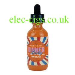 a bottle of Cornflake Tart 50 ML E-Liquid from Dinner Lady
