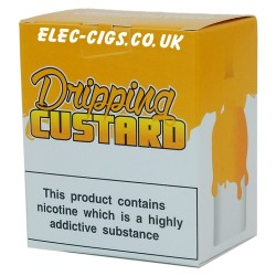 a box of Dripping Custard E-Juice