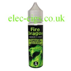 a bottle of Dragons Lair 50 ML E-Liquid by Fire Dragon