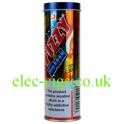 a tin of Fizzy Bull E-Juice 60 ML (6 x 10 ML) from Fizzy Juice