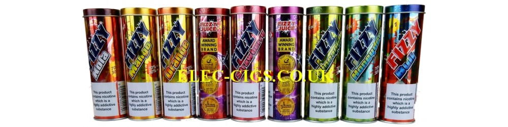 all the flavours of Fizzy Juice 6 x 10 ML E-Liquid 70-30 (VG/PG)