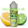Lemon and Lime 100 ML E-liquid from Fruit Fiesta