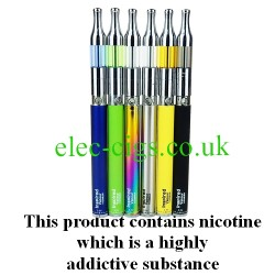 Inspired Vapour Arcus 1100 E-Cigarette showing all colours