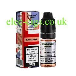 Black Tune 10 ML E-Liquid from Inspired Vapour