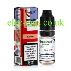 Blue Vim 10 ML E-Liquid from Inspired Vapour