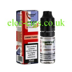 Cherry Tunes 10 ML E-Liquid from Inspired Vapour