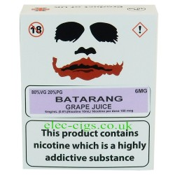 a box of Batarang from Joker Juice
