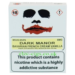 a box of Dark Manor from Joker Juice