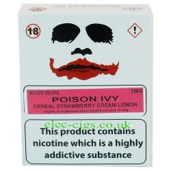 a box of Poison Ivy from Joker Juice