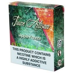 a box of Apple Freeze 3 x 10 ML by Juice Artisan