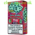 Juice Me Up: Berry Menthol Flavour E-Juice