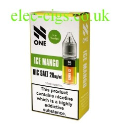 Ice Mango Nicotine Salt 10 ML E-Liquid by Debang