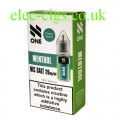 Menthol Nicotine Salt 10 ML E-Liquid by Debang