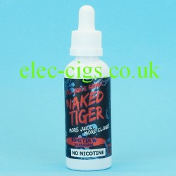 a bottle of  Honeydew Bubblegum Naked Tiger E-Juice 60 ML