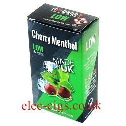 Cherry Menthol UK Made E-Liquid from Debang in its new retail box