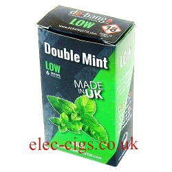 Double Mint UK Made E-Liquid from Debang in its new retail box