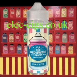 Candy Floss 100 ML E-Liquid by The Old Sweet Shop