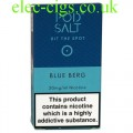 Blue Berg High Nicotine E-Liquid by Pod-Salt