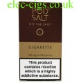 Cigarette High Nicotine E-Liquid by Pod-Salt