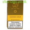 Havana Gold Nicotine E-Liquid by Pod-Salt