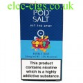 Bubble Blue (Candy Rush) High Nicotine E-Liquid by Pod-Salt