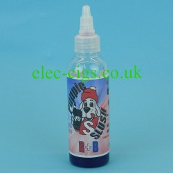 A bottle of Puppie Slush 80 ML E-Juice: R+B