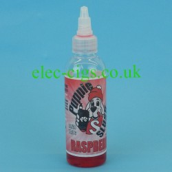 A bottle of Puppie Slush 80 ML E-Juice: Raspberry
