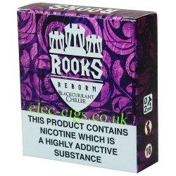 a box of Blackcurrant Chiller 3 x 10 ML from Rooks Reborn