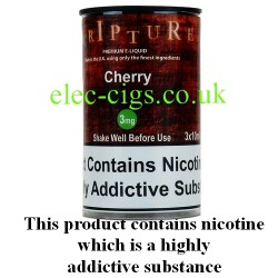 an image of a bottle of Cherry 30 ML E-Liquid 50-50 (VG/PG)