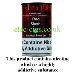 an image of a bottle of Red Slush 30 ML E-Liquid 50-50 (VG/PG)