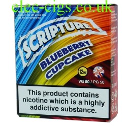 an image of a pack of Blueberry Cupcake 30 ML E-Liquid 50-50 (VG/PG)
