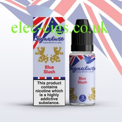 Blue Slush 10 ML E-Liquid from Signature