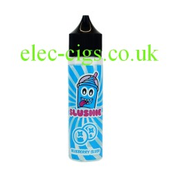 a bottle of Blueberry Slush 50 ML E-liquid from Slushie