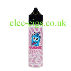 a bottle of Bubblegum Slush 50 ML E-liquid from Slushie
