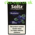 Blueberry High Nicotine E-Liquid by Soltz