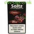 Cherry High Nicotine E-Liquid by Soltz