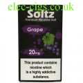 Grape High Nicotine E-Liquid by Soltz