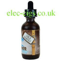 a bottle of Cola Shades 50 ML Summer Holiday E-Juice by Dinner Lady