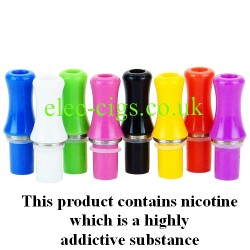 this shows the eight colours available for the Atomizer Mouthpiece