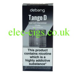 Blister pack of the Debang Tango D Atomizer including extra coil