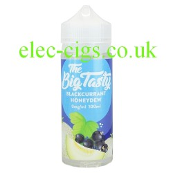 a bottle of Blackcurrant Honeydew E-Liquid by The Big Tasty