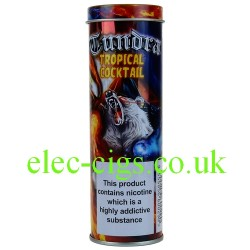 a tin of Tropical Cocktail E-Juice 60 ML (6 x 10 ML) from Tundra Juice