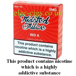 The pack of Twisted Juice: Red A