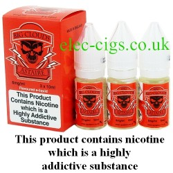 bottles of Big Clouds Red Astaire Vape Juice 30 ML: 80-20 (VG/PG) by VG Vapour